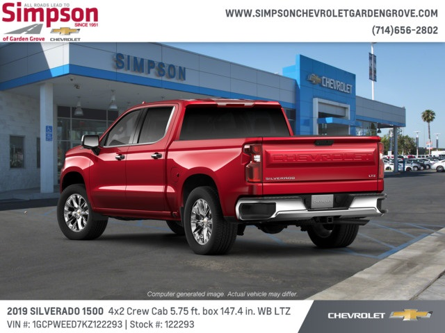 2019 Silverado 1500 Crew Cab 4x2,  Pickup #122293 - photo 2
