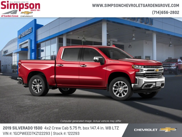 2019 Silverado 1500 Crew Cab 4x2,  Pickup #122293 - photo 4