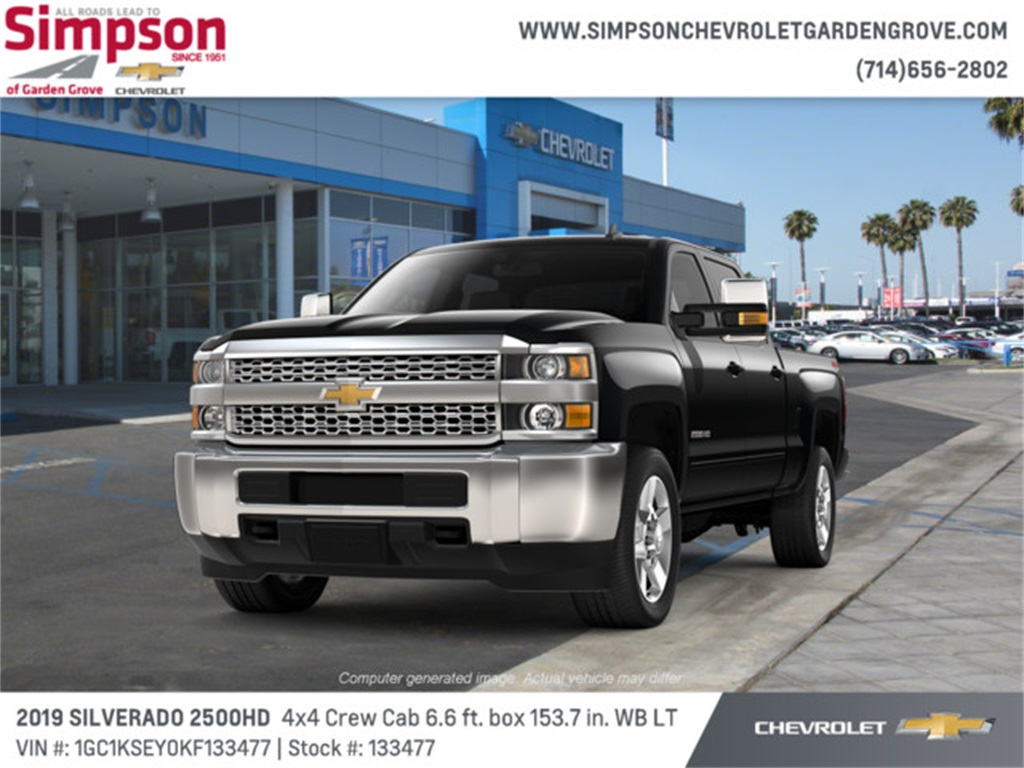 2019 Silverado 2500 Crew Cab 4x4,  Pickup #133477 - photo 1