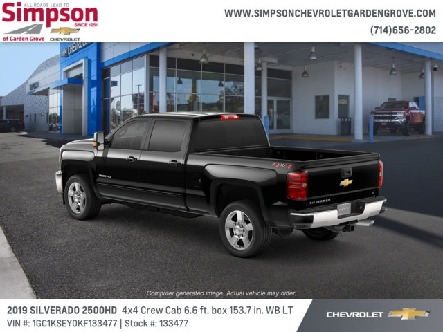 2019 Silverado 2500 Crew Cab 4x4,  Pickup #133477 - photo 2