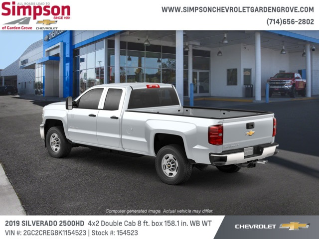 2019 Silverado 2500 Double Cab 4x2,  Pickup #154523 - photo 2
