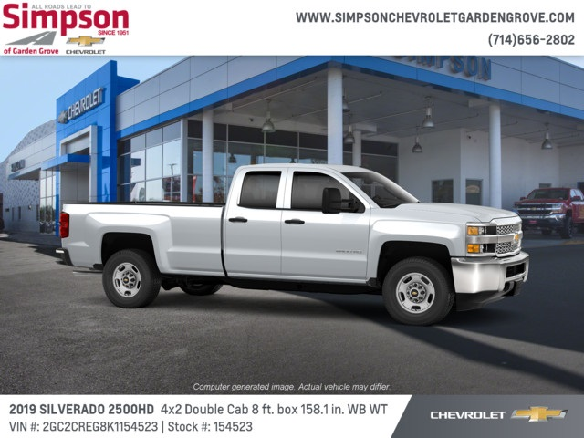 2019 Silverado 2500 Double Cab 4x2,  Pickup #154523 - photo 3