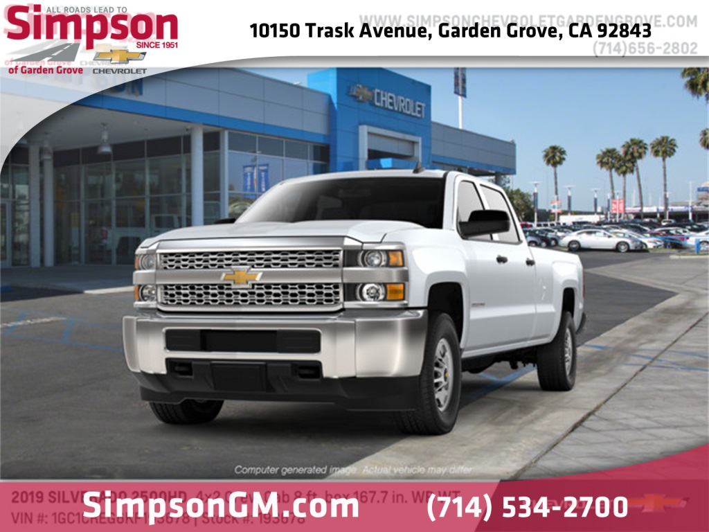 2019 Silverado 2500 Crew Cab 4x2,  Pickup #193678 - photo 1