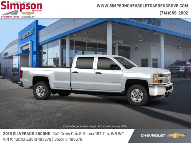 2019 Silverado 2500 Crew Cab 4x2,  Pickup #193678 - photo 3