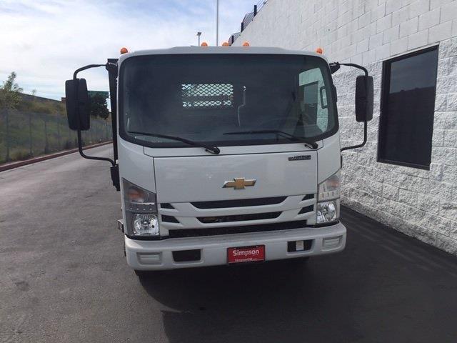 2021 LCF 3500 4x2,  Lion Truck Body Stake Bed #200695 - photo 4