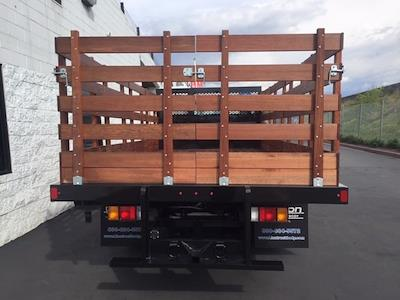 2021 LCF 3500 4x2,  Lion Truck Body Stake Bed #200695 - photo 2