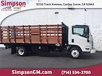 2021 LCF 3500 4x2,  Lion Truck Body Stake Bed #200695 - photo 1
