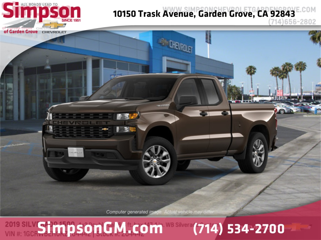 2019 Silverado 1500 Double Cab 4x2,  Pickup #204442 - photo 1