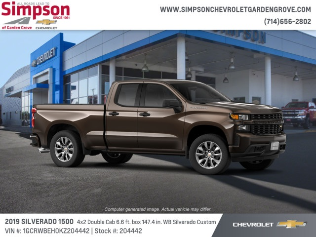 2019 Silverado 1500 Double Cab 4x2,  Pickup #204442 - photo 4