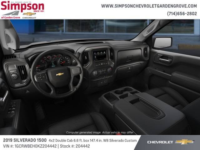 2019 Silverado 1500 Double Cab 4x2,  Pickup #204442 - photo 5