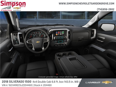 2018 Silverado 1500 Double Cab 4x4,  Pickup #204460 - photo 5