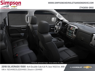 2018 Silverado 1500 Double Cab 4x4,  Pickup #204460 - photo 6