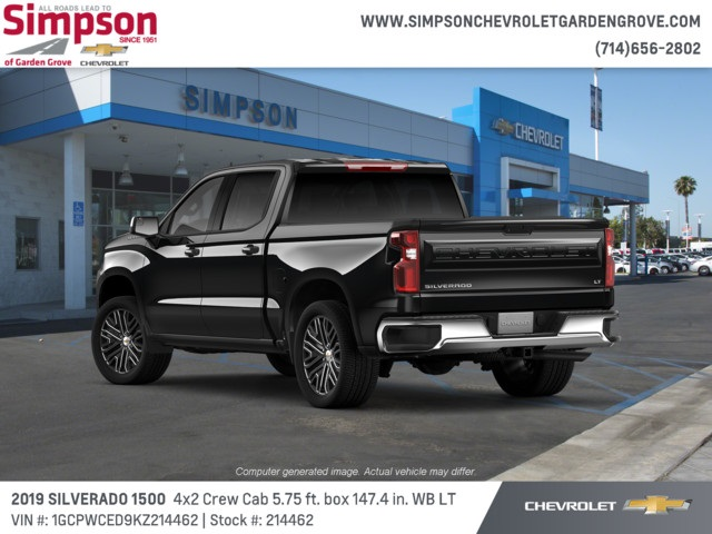 2019 Silverado 1500 Crew Cab 4x2,  Pickup #214462 - photo 2