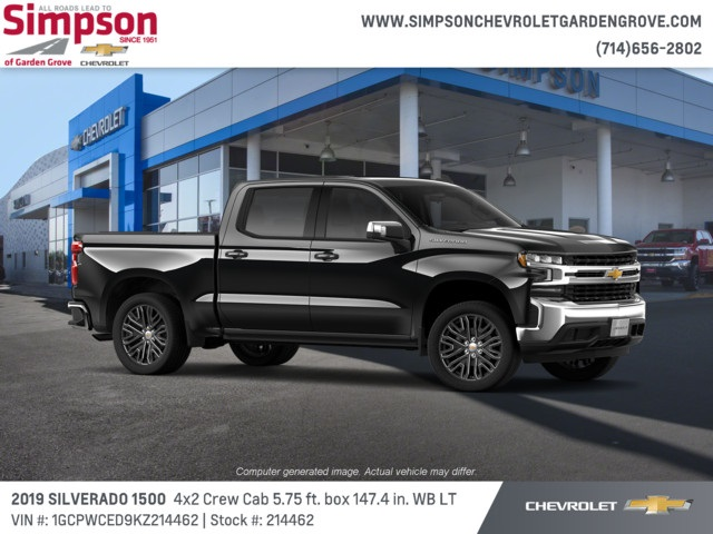 2019 Silverado 1500 Crew Cab 4x2,  Pickup #214462 - photo 4