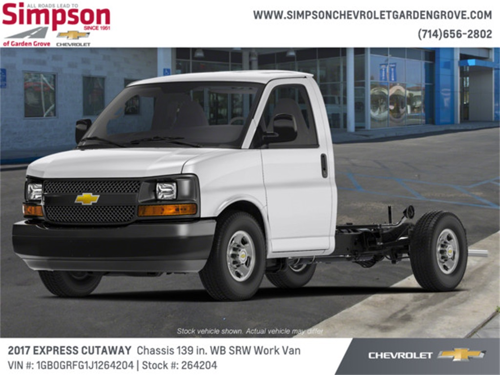 2018 Chevrolet Express 3500 4x2, Cutaway #264204 - photo 1