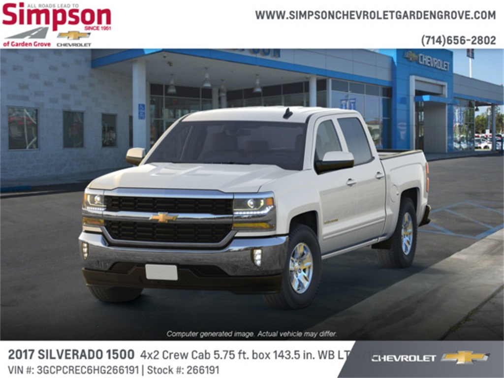 2017 Silverado 1500 Crew Cab 4x2,  Pickup #266191 - photo 1