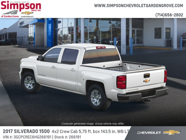 2017 Silverado 1500 Crew Cab 4x2,  Pickup #266191 - photo 2