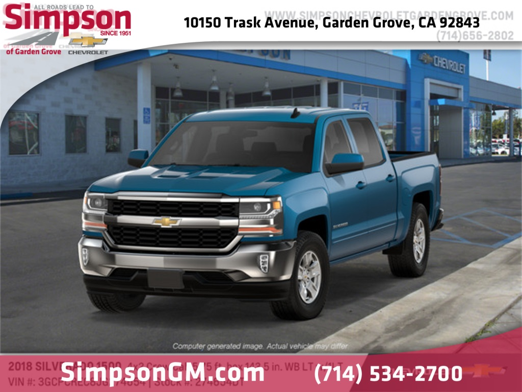2018 Silverado 1500 Crew Cab 4x2,  Pickup #274654DT - photo 1