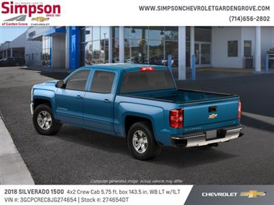 2018 Silverado 1500 Crew Cab 4x2,  Pickup #274654DT - photo 2