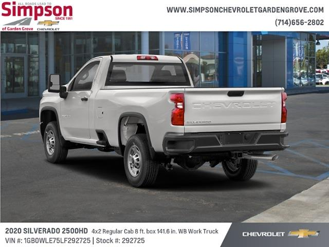 2020 Chevrolet Silverado 2500 Regular Cab 4x2, Cab Chassis #292725 - photo 1