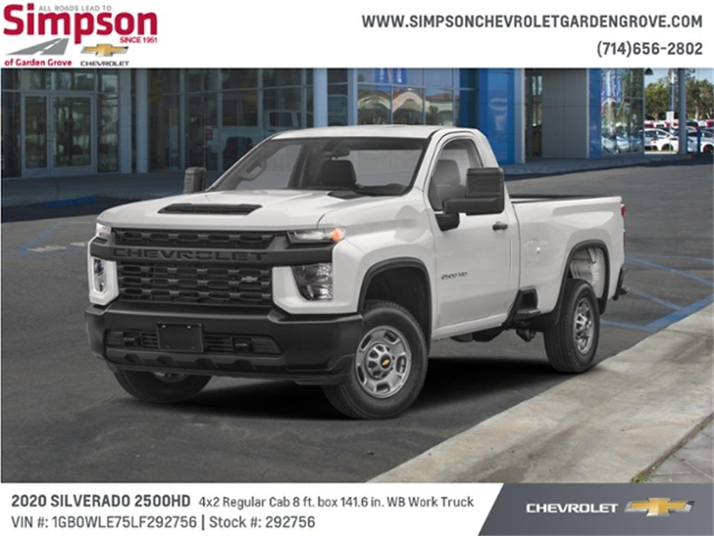 2020 Chevrolet Silverado 2500 Regular Cab 4x2, Cab Chassis #292756 - photo 1