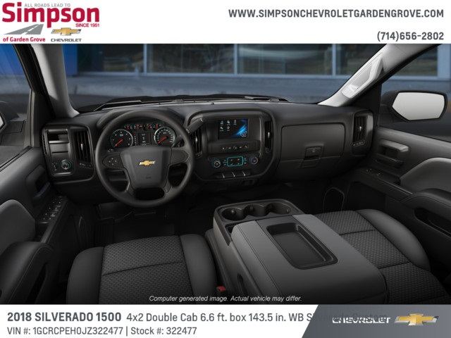 2018 Silverado 1500 Double Cab 4x2,  Pickup #322477 - photo 5