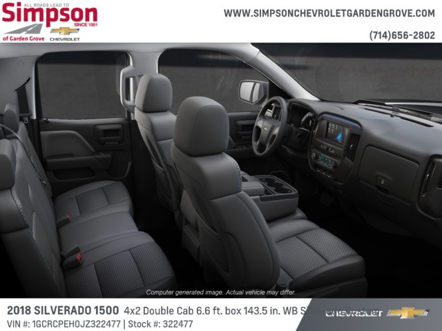 2018 Silverado 1500 Double Cab 4x2,  Pickup #322477 - photo 6