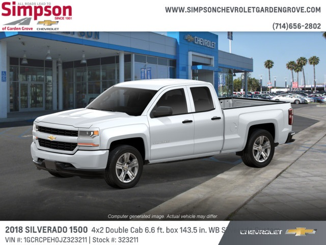 2018 Silverado 1500 Double Cab 4x2,  Pickup #323211 - photo 3