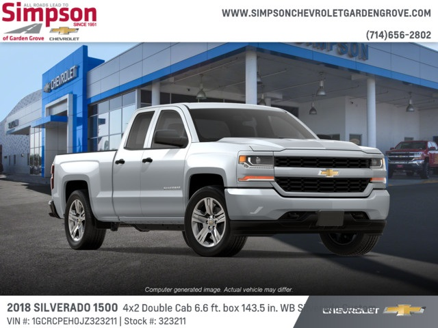 2018 Silverado 1500 Double Cab 4x2,  Pickup #323211 - photo 4