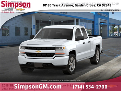 2018 Silverado 1500 Double Cab 4x2,  Pickup #323698 - photo 1