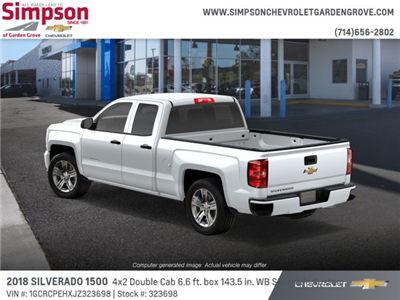 2018 Silverado 1500 Double Cab 4x2,  Pickup #323698 - photo 2