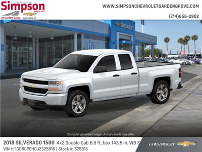 2018 Silverado 1500 Double Cab 4x2,  Pickup #325816 - photo 3