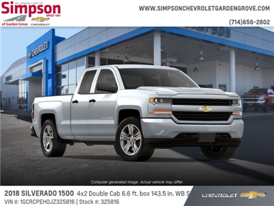 2018 Silverado 1500 Double Cab 4x2,  Pickup #325816 - photo 4
