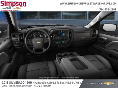 2018 Silverado 1500 Double Cab 4x2,  Pickup #325816 - photo 5