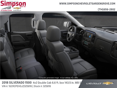 2018 Silverado 1500 Double Cab 4x2,  Pickup #325816 - photo 6