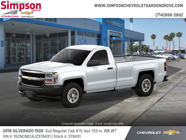2018 Silverado 1500 Regular Cab 4x2,  Pickup #378431 - photo 3
