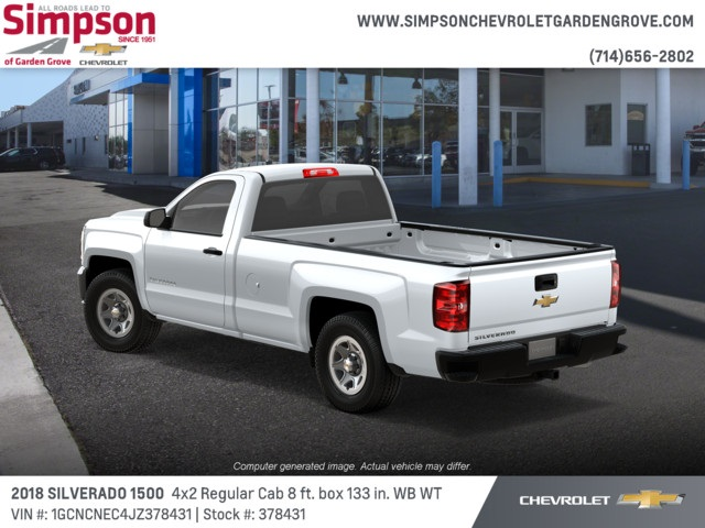 2018 Silverado 1500 Regular Cab 4x2,  Pickup #378431 - photo 2