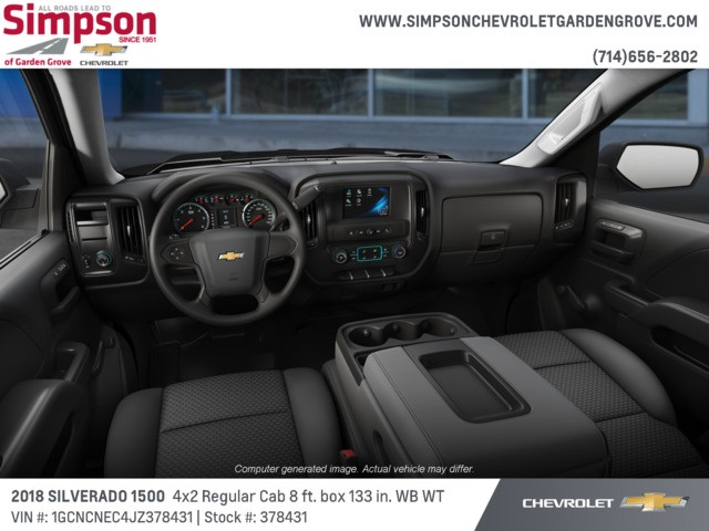 2018 Silverado 1500 Regular Cab 4x2,  Pickup #378431 - photo 5
