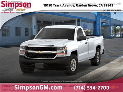 2018 Silverado 1500 Regular Cab 4x2,  Pickup #378431 - photo 1