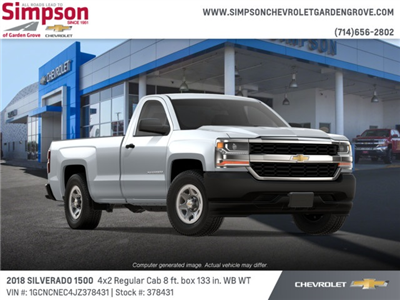 2018 Silverado 1500 Regular Cab 4x2,  Pickup #378431 - photo 4