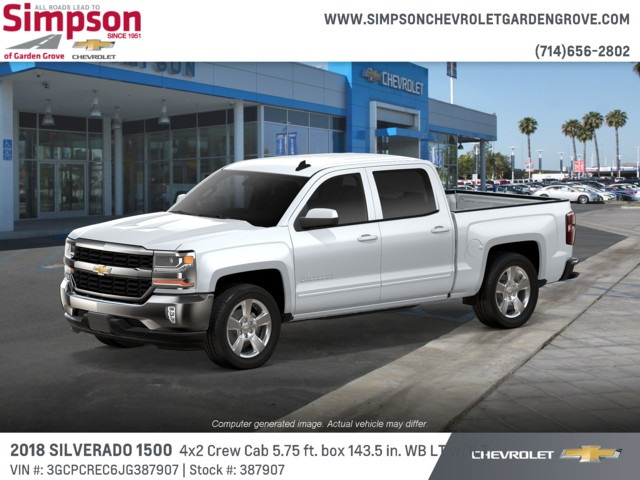 2018 Silverado 1500 Crew Cab 4x2,  Pickup #387907 - photo 3