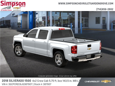2018 Silverado 1500 Crew Cab 4x2,  Pickup #387907 - photo 2
