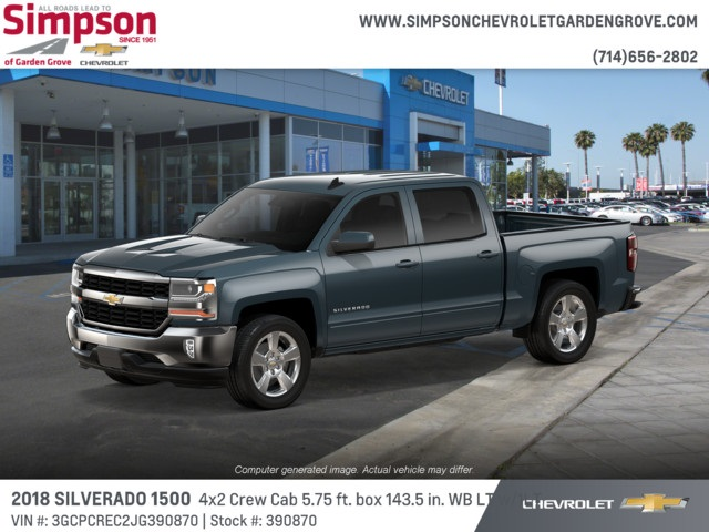 2018 Silverado 1500 Crew Cab 4x2,  Pickup #390870 - photo 3
