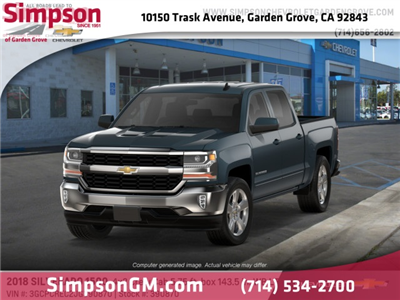2018 Silverado 1500 Crew Cab 4x2,  Pickup #390870 - photo 1
