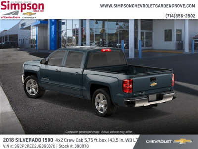 2018 Silverado 1500 Crew Cab 4x2,  Pickup #390870 - photo 2