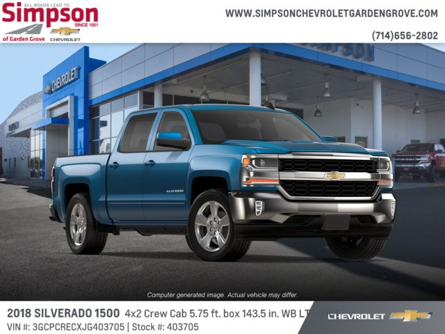 2018 Silverado 1500 Crew Cab 4x2,  Pickup #403705 - photo 4