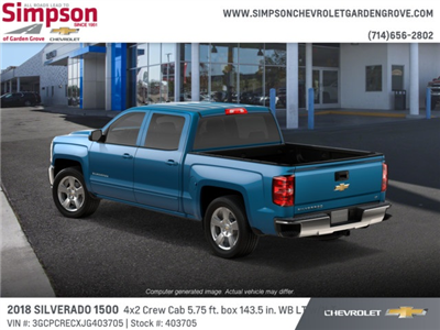2018 Silverado 1500 Crew Cab 4x2,  Pickup #403705 - photo 2