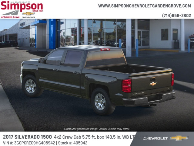 2017 Silverado 1500 Crew Cab 4x2,  Pickup #405942 - photo 2