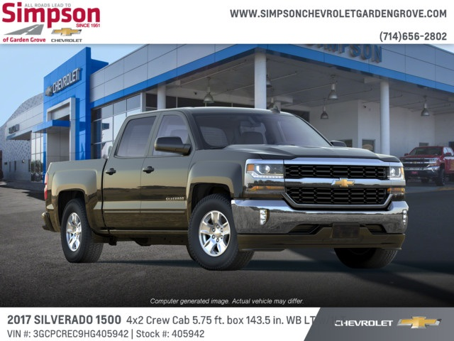 2017 Silverado 1500 Crew Cab 4x2,  Pickup #405942 - photo 4