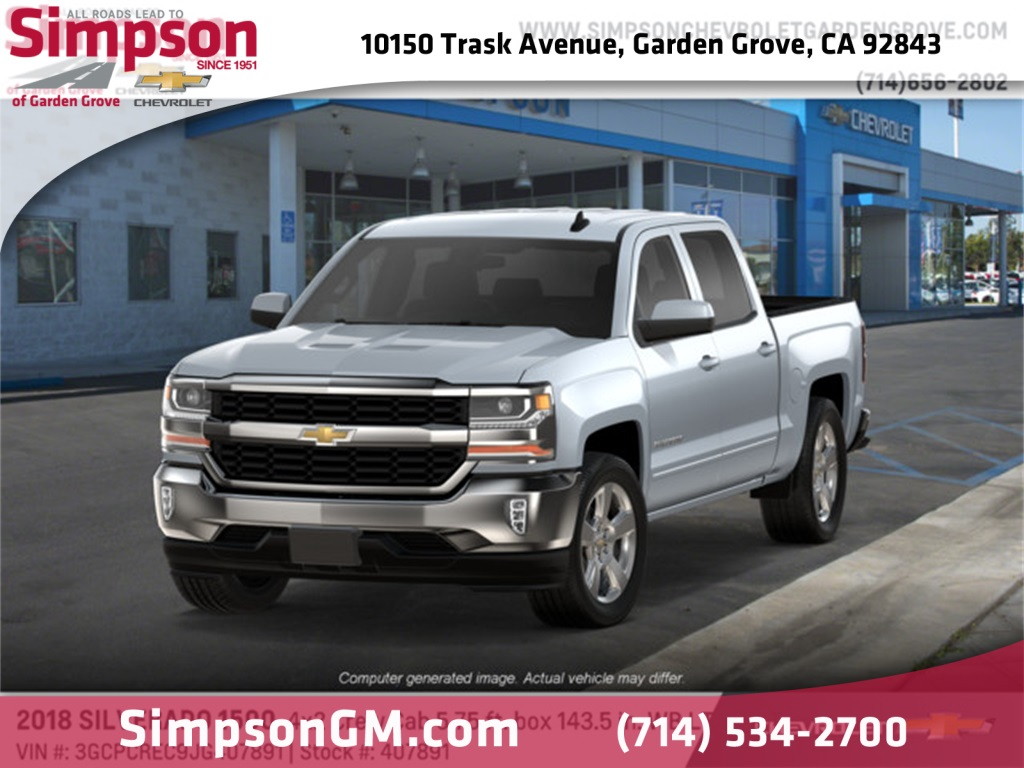 2018 Silverado 1500 Crew Cab 4x2,  Pickup #407891 - photo 1